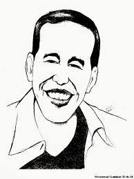 Gambar Sketsa Pahlawan Nasional Hitam Putih